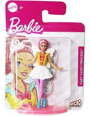 Boneca Barbie Mini Dreamtopia Fada Sereia Fada Rosa