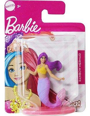 Boneca Barbie Mini Dreamtopia Fada Sereia Sereia Ruiva