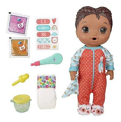 Boneca Baby Alive - Aprendendo A Cuidar - Negra - Comidinha