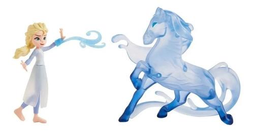 Kit Boneca Elsa E Nokk Cavalinho Da Agua Frozen 2 Disney
