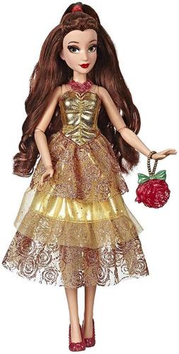 Boneca Princesas Disney Style Serie Bela Edição De Luxo