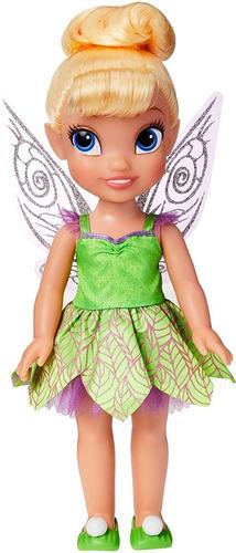 Boneca Princesa Sininho Tinker Bell Com Asas Fadas Disney