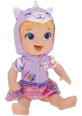 Boneca Baby Alive Tinycorn Fantasia De Unicórnio Loira