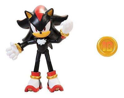 Boneco Sonic The Hedgehog Articulado Shadow