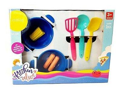 Kit Cozinha Kitchen Alive Mielle 7 Peças