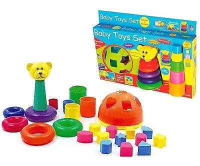 Brinquedo Educativo Didático Diversão Baby Toys Set Pica Pau