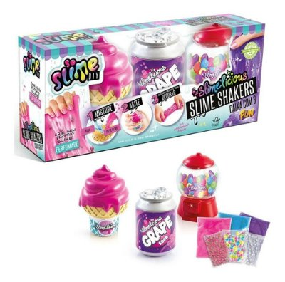 Kit Fabrica De Slime Diy Slime Shakers Sorvete Lindo E Fofo