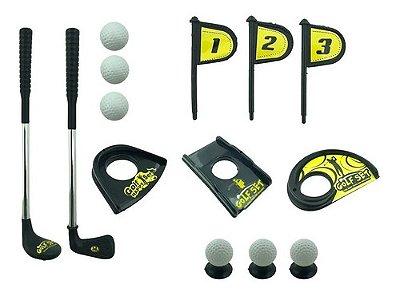 Jogo De Mini Golfe Golf Infantil Esportivo De Brinquedo