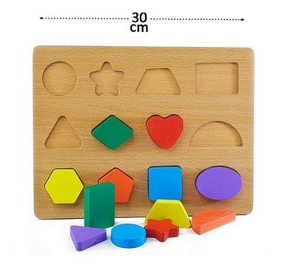 Brinquedo Educativo Pedagógico Tabuleiro Educativo Formas