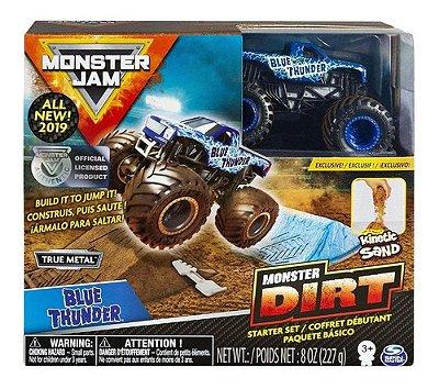Monster Jam Pista Monster Dirt Com Massalama Areia