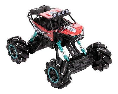 Carrinho De Controle Remoto 4x4 Monster Truck Com Musica