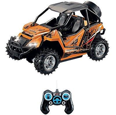 Carro Carrinho Controle Remoto C/r 7funcoes Rally Discovery