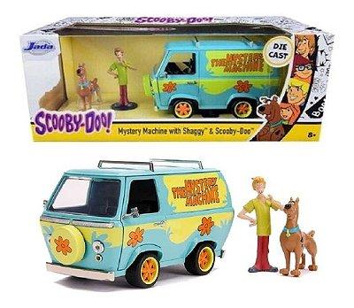 Scoobydoo Salsicha Máquina Mistério Miniatura 17cm Jada 1/24