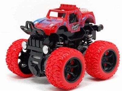 Carrinho Big Foot Monster Mini Truck Pick 4x4 Fricção - Vermelho