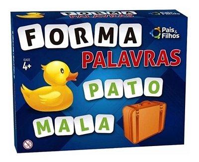 Jogo Forma Palavras Infantil Crianças Educativo Alfabeto