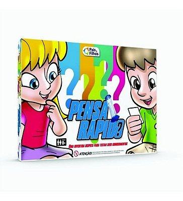 Jogo De Conhecimentos Infantil Pensa Rapido Super Jogos