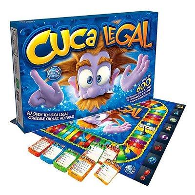 Jogo De Tabuleiro Cuca Legal Pais & Filhos + 600 Perguntas