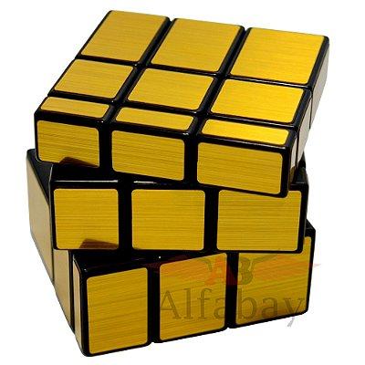 Shengshou Mirror Block 3x3x3 Dourado