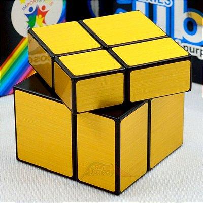 FanXin Mirror Block 2x2x2 Dourado