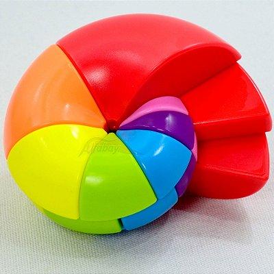 FanXin Nautilus Rainbow Cube Puzzle Stickerless