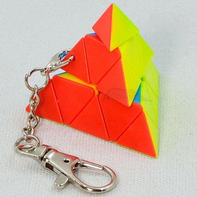 Chaveiro JieHui Pyraminx Stickerless