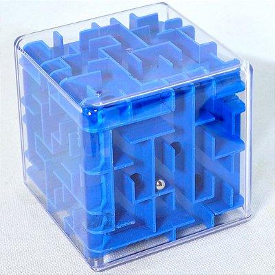 Maze 3D Puzzle Sphere Ball Labirinto Azul