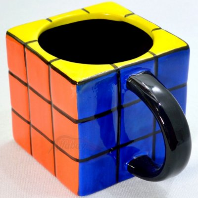 Caneca Porta Lápis Cubo Mágico 3x3x3