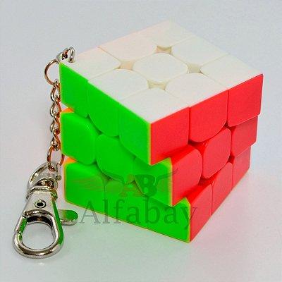 Chaveiro MoYu 3x3x3 MoFangJiaoShi Mini 3.0cm