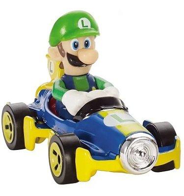 Carrinho Hot Wheels - Mario Kart -  Luigi