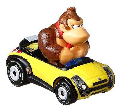 Carrinho Hot Wheels - Mario Kart -  Donkey Kong