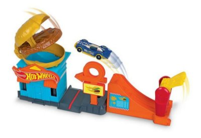 Pista Hot Wheels City Downtown Loja De Hambúrguer Mattel