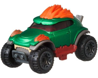 Hot Wheels - Blanka - Street Fighter - Character Carros