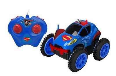 Carro RC Liga da Justiça Superman DC Comic