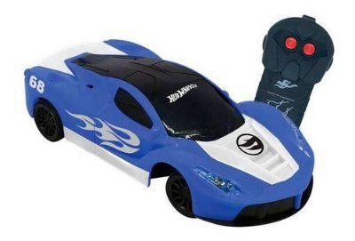 Carro RC Hot Wheels Speed Team Azul