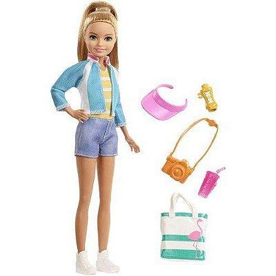 Barbie Skipper Viajante Com Acessórios Loira Adolescente