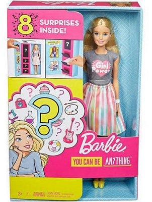 Boneca Barbie Profissões - Profissão Surpresa 8 Surpresas - Cada Boneca è supressa