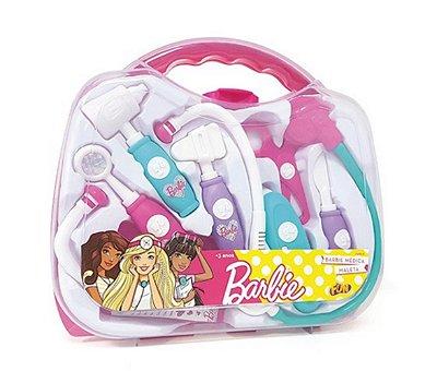 Brinquedo De Medica Infantil Kit Maleta De Medica Da Barbie