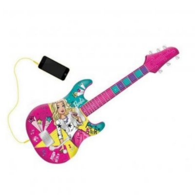 Barbie Guitarra Eletrica Fabulosa Com Função Mp3 Player Fun