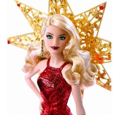 Barbie Colecionável 2017 Holiday Blonde Doll Edição De Luxo Loira
