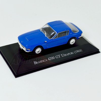 Carro Miniatura Brasinca 4200 GT Uirapuru 1964 Carros Inesquecíveis do Brasil