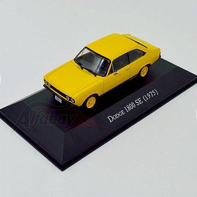 Carro Miniatura Dodge 1800 SE 1975 Carros Inesquecíveis do Brasil