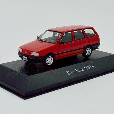 Carro Miniatura FIAT Elba 1986 Carros Inesquecíveis do Brasil