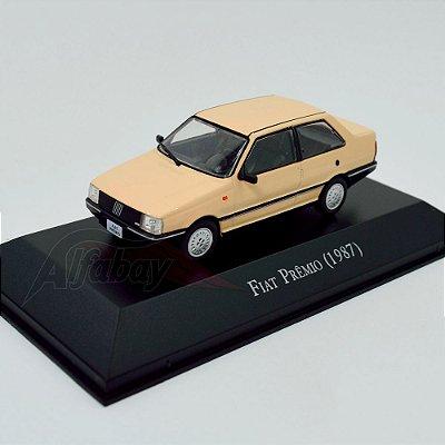 Carro Miniatura FIAT Prêmio 1987 Carros Inesquecíveis do Brasil
