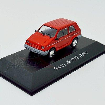 Carro Miniatura Gurgel BR 800 SL Carros Inesquecíveis do Brasil