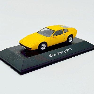 Carro Miniatura Miura Sport 1977 Carros Inesquecíveis do Brasil
