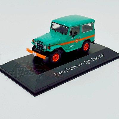 Carro Miniatura Toyota Bandeirante Light Eletricidade Carros Inesquecíveis do Brasil