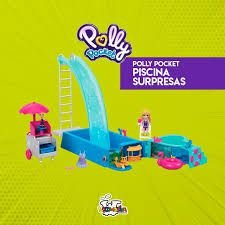 Playset e Boneca - Polly Pocket - Piscina Surpresas Escondidas - Mattel
