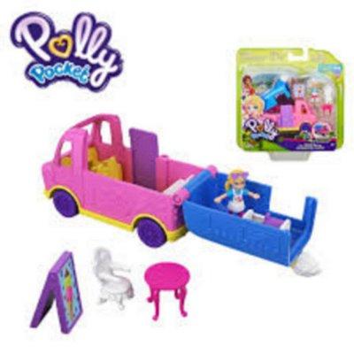 Boneca Micro Polly Pocket Pollyville - Caminhão Sorvete Mattel