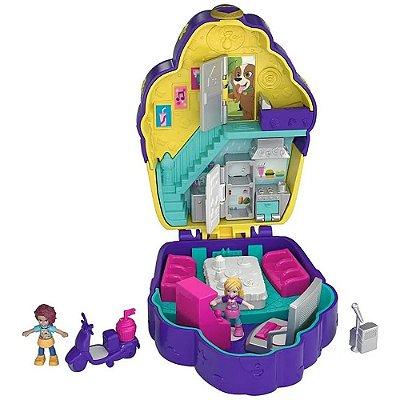 Polly Pocket - Casa Da Polly - Mini Mundo De Aventura - Magico