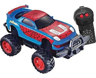 Carro RC Homem Aranha Web Candide